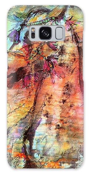 Abstract Expressive Arabian Stallion Art Galaxy Case
