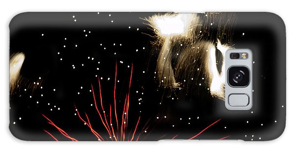Abstract Fireworks IIi Galaxy Case