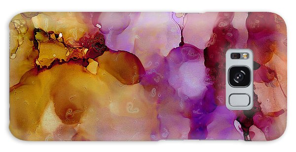 Abstract Floral #22 Galaxy Case