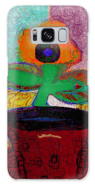 Abstract Floral Art 116 Galaxy Case