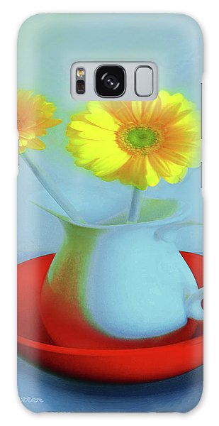 Abstract Floral Art 268 Galaxy Case