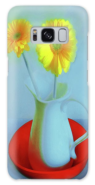 Abstract Floral Art 269 Galaxy Case