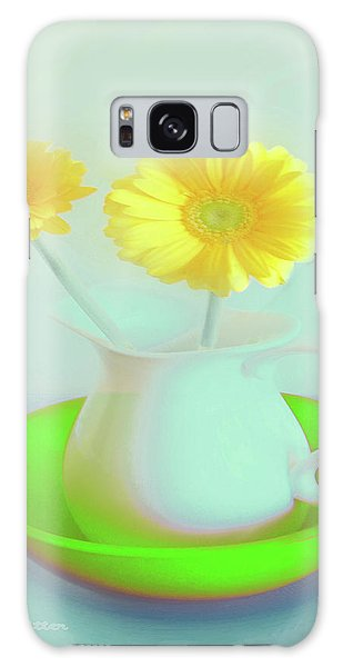 Abstract Floral Art 275 Galaxy Case