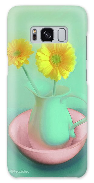 Abstract Floral Art 282 Galaxy Case