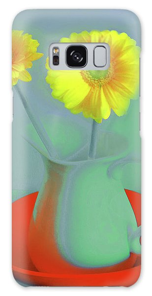 Abstract Floral Art 300 Galaxy Case