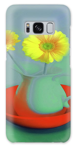 Abstract Floral Art 301 Galaxy Case