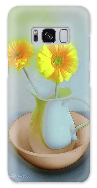 Abstract Floral Art 302 Galaxy Case