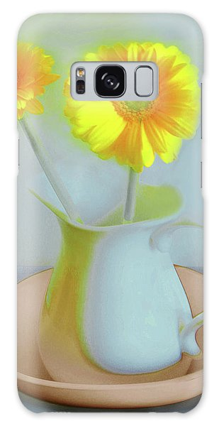 Abstract Floral Art 303 Galaxy Case