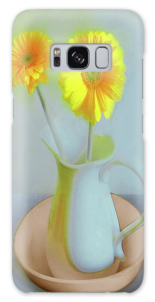 Abstract Floral Art 304 Galaxy Case