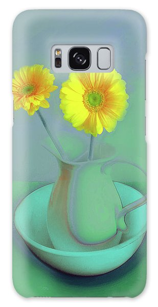 Abstract Floral Art 305 Galaxy Case