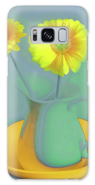 Abstract Floral Art 307 Galaxy Case