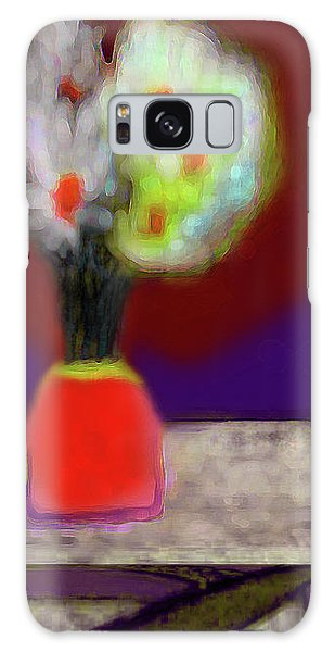 Abstract Floral Art 339 Galaxy Case