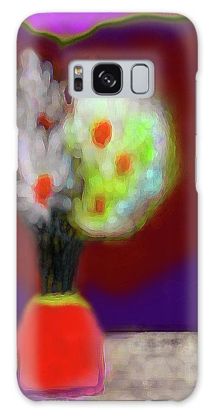 Abstract Floral Art 340 Galaxy Case