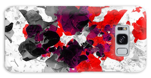 Abstract Floral No.3 Galaxy Case