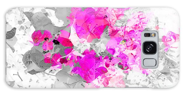 Abstract Floral No.4 Galaxy Case
