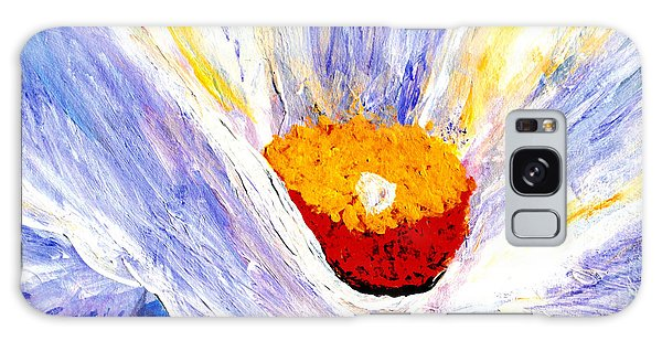 Abstract Floral Painting 001 Galaxy Case