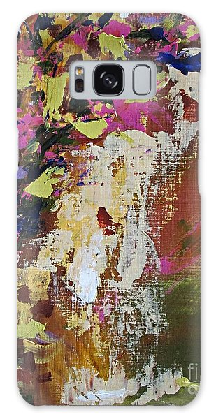Abstract Floral Study Galaxy Case