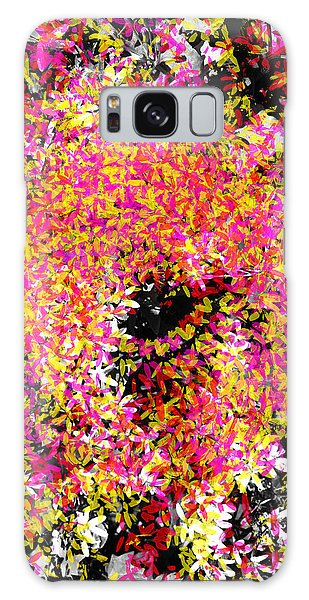 Abstract Floral Swirl No.3 Galaxy Case