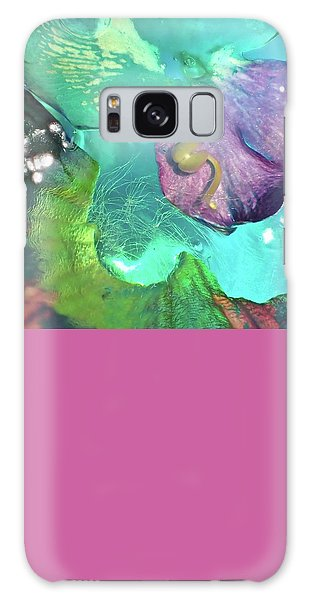 Abstract Flower 3 Galaxy Case