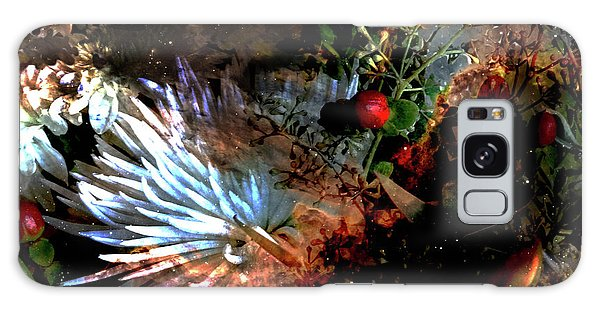 Abstract Flowers Of Light Series #5 Galaxy Case