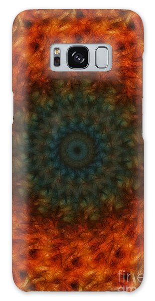Abstract Fractal  Galaxy Case by Donna Greene