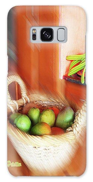 Abstract Fruit Art   100 Galaxy Case