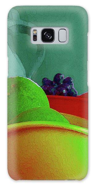 Abstract Fruit Art 85 Galaxy Case