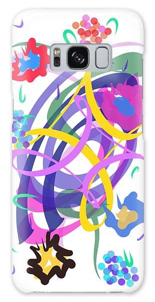 Abstract Garden #2 Galaxy Case