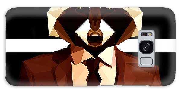 Abstract Geometric Raccoon Galaxy Case by Gallini Design