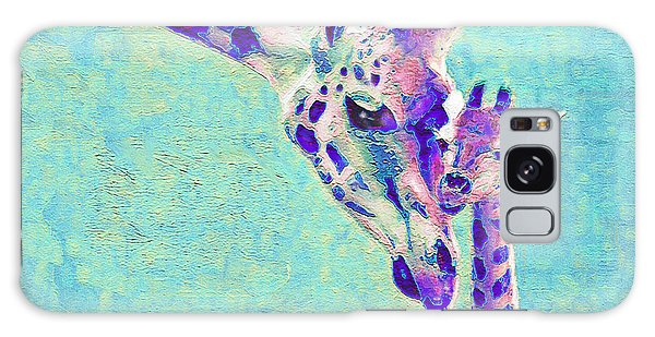 Abstract Giraffes Galaxy Case