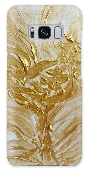 Abstract Golden Rooster Galaxy Case