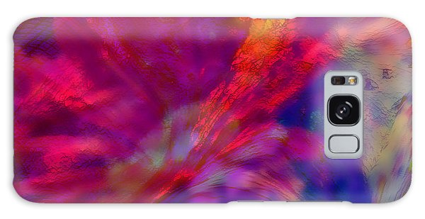 Abstract Gypsy Flower Galaxy Case by Sherri's Of Palm Springs