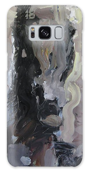 Abstract Horse Painting Galaxy Case