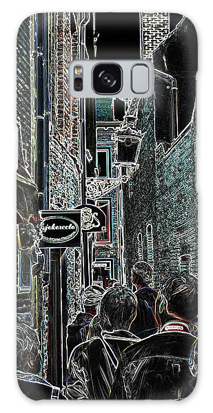 Abstract  Images Of Urban Landscape Series #12b Galaxy Case