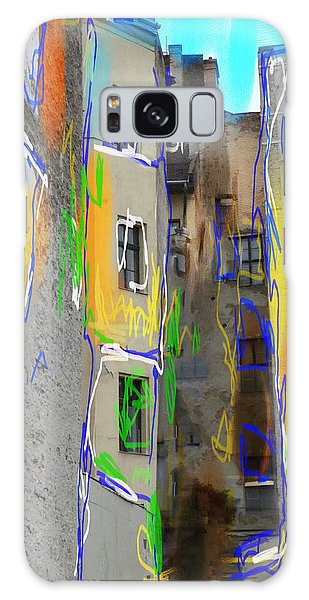 Abstract  Images Of Urban Landscape Series #13 Galaxy Case