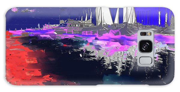 Abstract  Images Of Urban Landscape Series #14 Galaxy Case