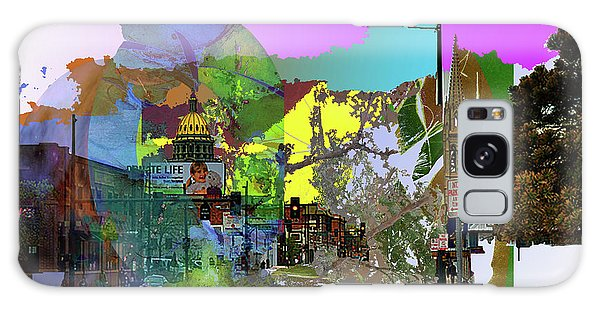 Abstract  Images Of Urban Landscape Series #5 Galaxy Case