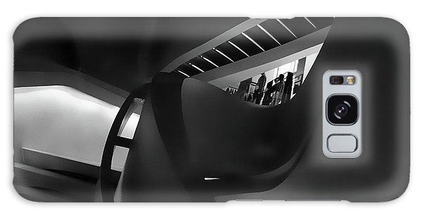 Banister Galaxy Case - Abstract In Black by Jessica Jenney