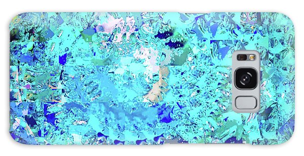 Abstract In Blue No. 56-2 Galaxy Case
