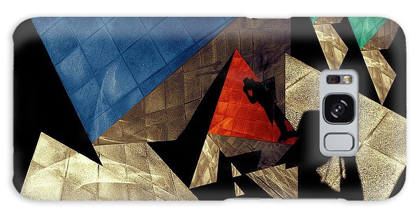 Abstract Iterations Galaxy Case by Wayne Sherriff