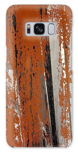 abstract junk yard photographs - Painted Glass Galaxy Case