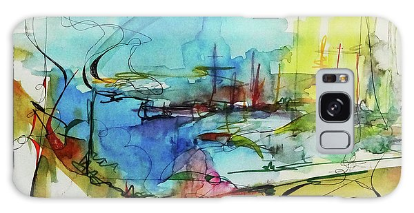 Abstract Landscape #1 Galaxy Case