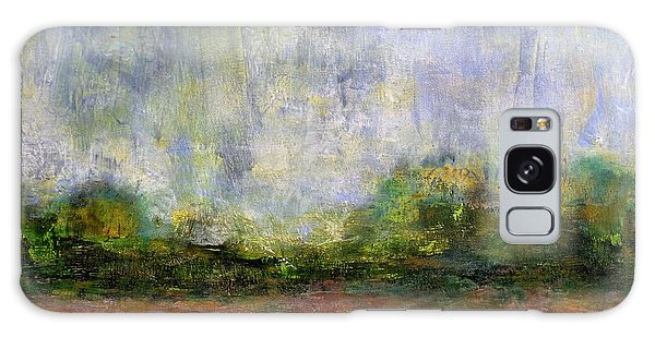 Abstract Landscape #310 - Spring Rain Galaxy Case