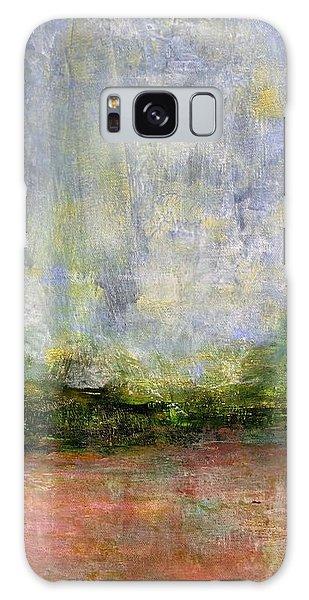Abstract Landscape #310 - Spring Rain Galaxy Case