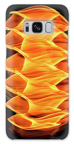 Abstract Light Number 2 Galaxy Case
