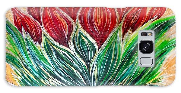 Abstract Lotus Galaxy Case