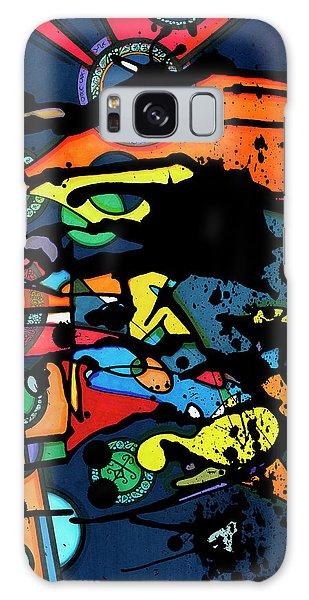 Abstract Man  Galaxy Case