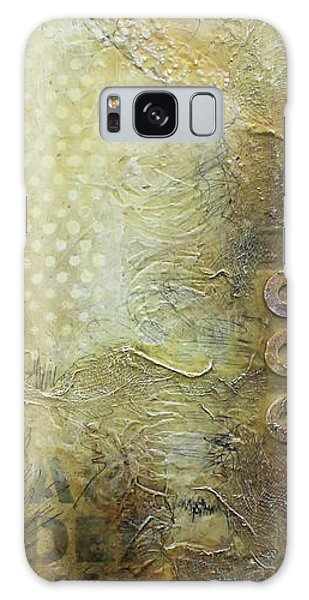 Abstract Modern Art Earth Tones Galaxy Case