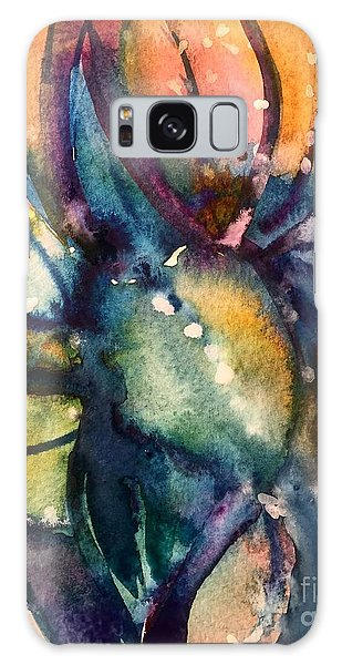 Abstract Nature Galaxy Case