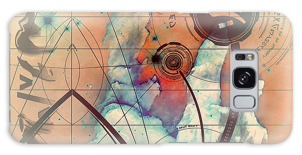 Abstract No 28 Galaxy Case by Robert G Kernodle